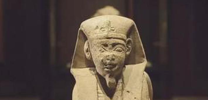 古埃及文物抵长 湖南省博可看木乃伊