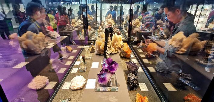 第七届国际矿博览会在湖南郴州开幕