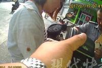 南京一女子无证驾驶 面对处罚报上女儿姓名