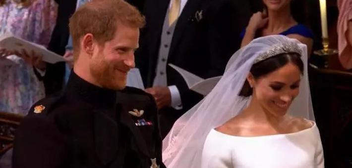 哈里王子成婚 10万人温莎见证庆典