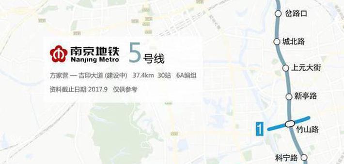 南京地铁5号线最新进展