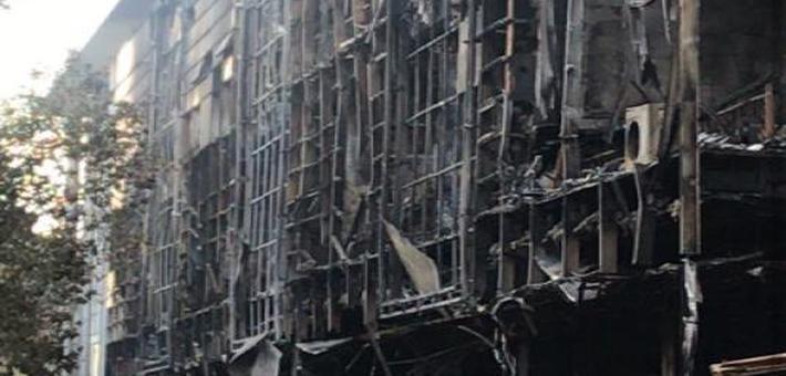 常州一店铺起火致5死2伤 系人为纵火