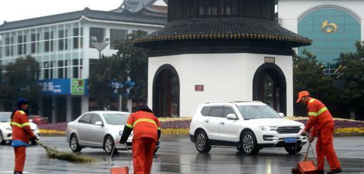 扬州古城少了鞭炮更宁静干净