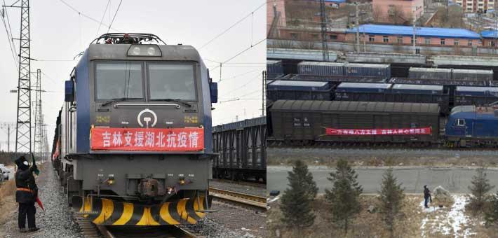 吉林1千吨物资紧急驰援湖北武汉!