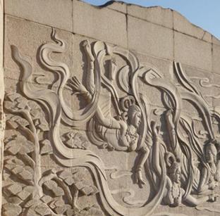 满族文化风情园壁画