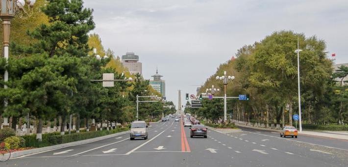 长春市人民大街即将提升改造完毕