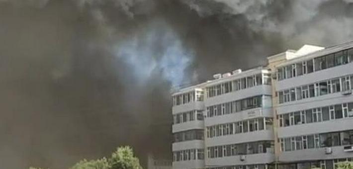 长春一物流仓库发生火灾 已造成14人死亡