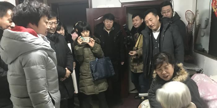 吉林省副省长李悦到南关区走访慰问百岁老人