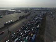 今明两日车流量增大 江西高速迎来节前高峰