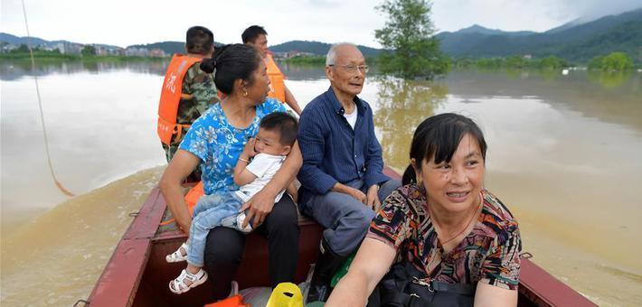 洪流逆行——在中乡救援记