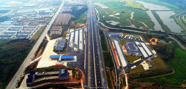 扩建后的昌九高速国庆节前通车