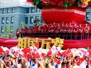 国庆游行她们压轴出场!这就是中国女排!