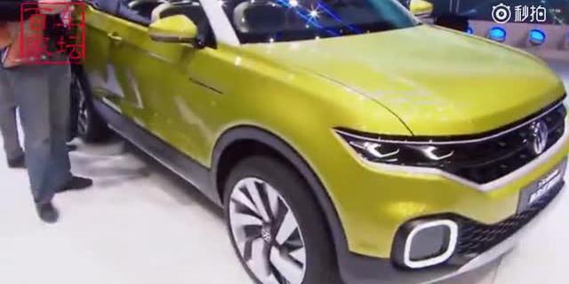 视频:大众T-Cross概念车帅气来袭