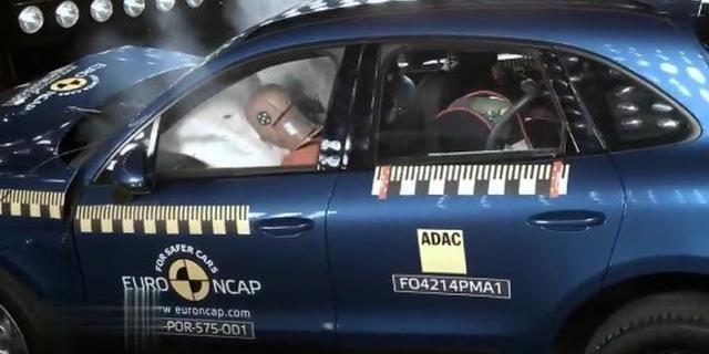 保护性不错 保时捷Macan欧洲碰撞测试