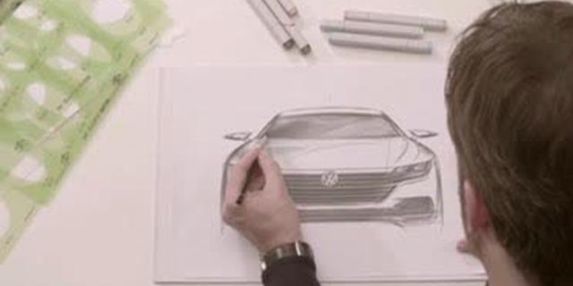 视频:大众概念汽车arteon的设计故事