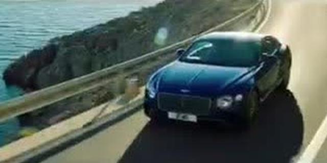视频:全新一代宾利欧陆GT发布