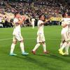 西甲-贝尔梅开二度+红牌 皇马客场2度落后2-2连平