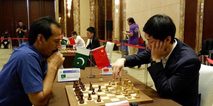上合組織國家國象團體賽首日 中國兩隊暫列三四位