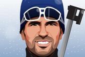 也玩冰雪?切尔西球员漫画形象