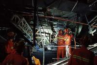 广西百色一酒吧坍塌事故:酒吧负责人已被控制