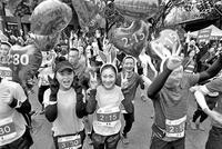 重庆男子以前像怀孕四五个月孕妇 跑步一年减重30斤