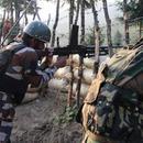 印度軍隊在克什米爾與武裝分子槍戰 並向平民開火