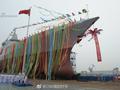 中国又有2艘055大驱合拢 一项技术让西方国家眼红