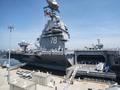 美国最新型航母服役特朗普称将使盟友安心敌人颤栗