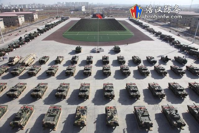 中国陆军某部豪华装备太亮眼