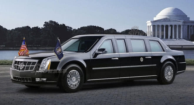 特朗普换新总统专车能防火箭弹