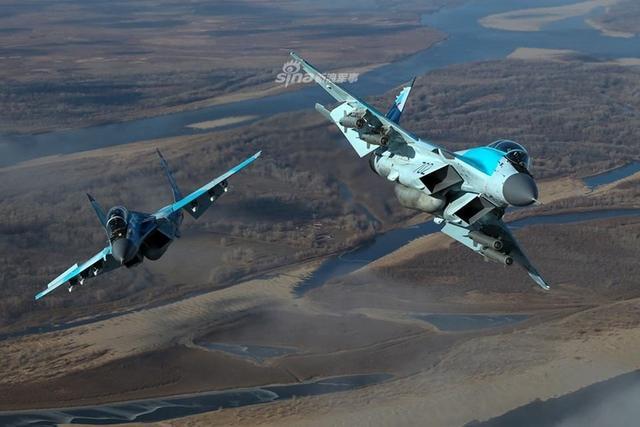 俄罗斯军方为米格35拍航空大片