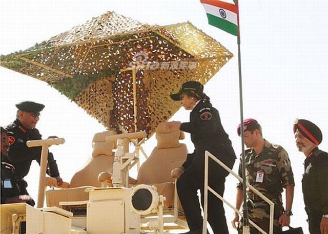 印军T90炮塔焊真皮座椅太风骚