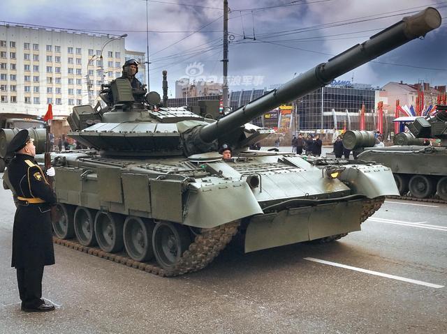 俄T80BV坦克重启后战斗力飙升