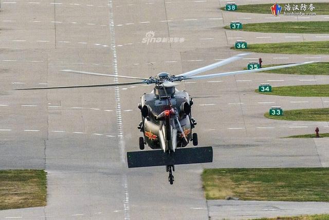 我军最神秘直升机直20再亮新照