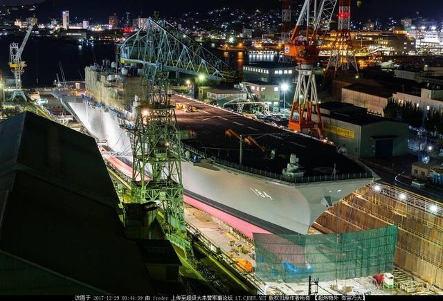 日本升级出云号计划战机上舰