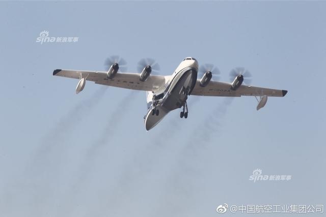美媒关注中国ag600两栖飞机:可完全覆盖中国南海岛礁