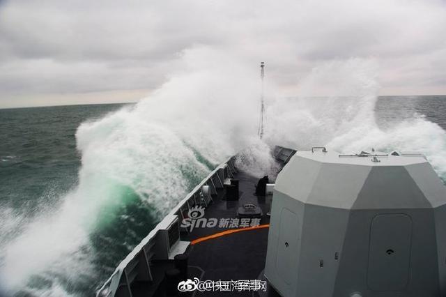 海军护卫舰支队开展实战化训练