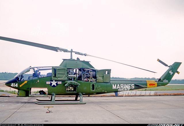巴基斯坦接收美国造武直AH-1Z