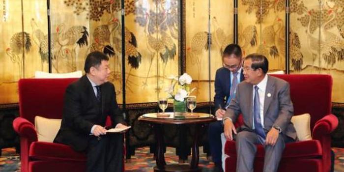 双色球基本走势图大赢家_柬埔寨首相洪森:我们想用全球最新技术 希望华为帮忙