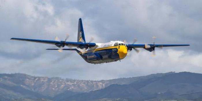 美海軍藍天使C-130T運輸機正式退役 已飛行超3萬小時