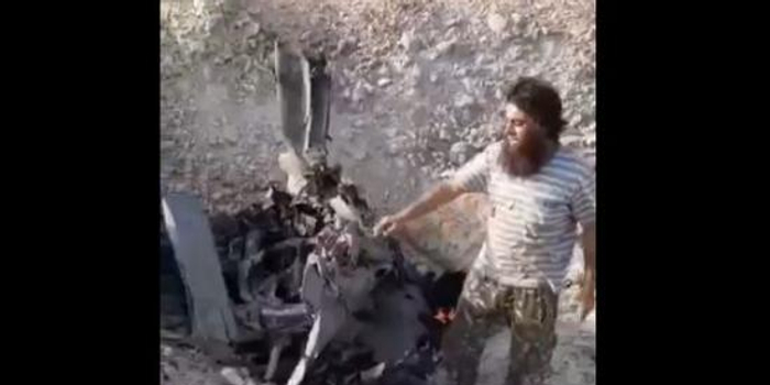 敘利亞政府軍蘇22戰機被武裝分子擊落 飛行員被俘