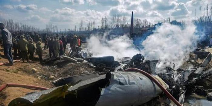 印度承认2月印巴空战直升机坠机原因 遭己方火力打击