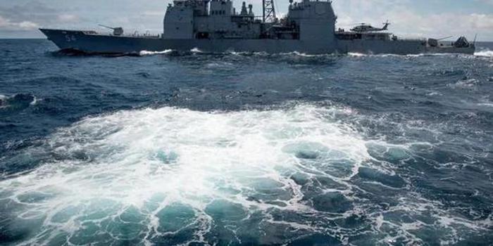 台媒:美国一艘军舰航经台湾海峡 执行