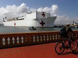 美国防授权法呼吁美军医疗船安慰号及仁慈号停靠台湾
