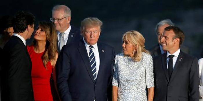 """特朗普G7峰会四次提到中国 语气被形容在""""求和解"""""""
