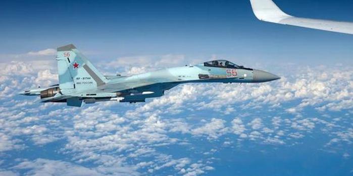 北約軍機挑釁俄防長 被常來中國表演的那架蘇27驅離