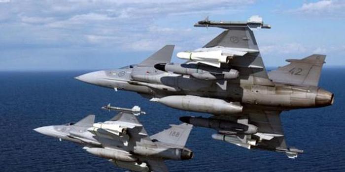 瑞典称其鹰狮战机电子战能力全球最强 完胜俄军苏57