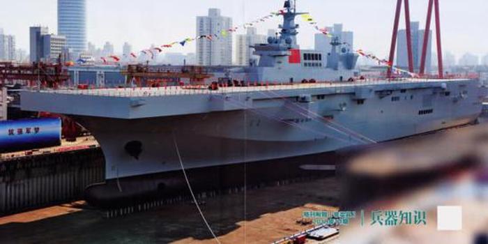 075舰再曝官方靓照:不仅性能强悍 更是颜值担当