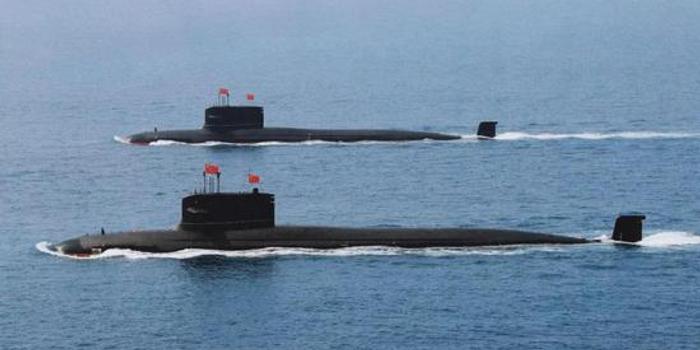 093B核潜艇噪音降至110分贝以下 龟背并非垂发导弹