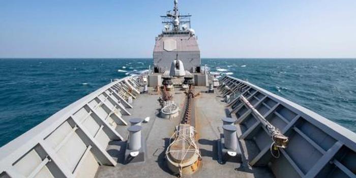 美舰穿越台湾海峡后 美军方罕见迅速发布现场图(图)